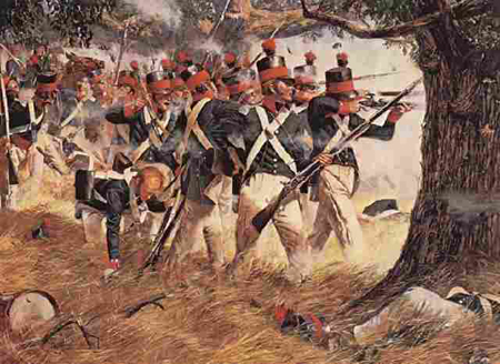 Battle of North Point by Don Troiani